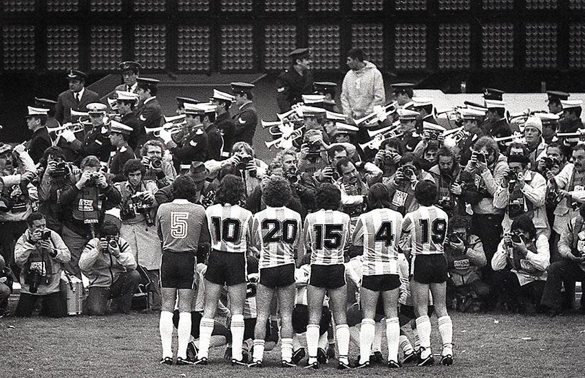 Mundial de fútbol en la Argentina. Junio de 1978.